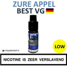 Best VG Zure Appel e-liquid low