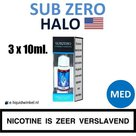 Halo E-liquid SubZero 3 x 10ml. Medium