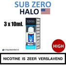 Halo E-liquid SubZero 3 x 10ml. High