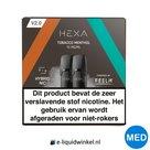 Hexa E-liquid Pod 2.0 Tobacco Menthol 10mg