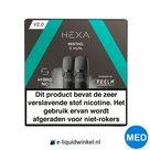 Hexa E-liquid Pod 2.0 Menthol 10mg