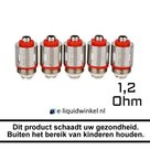 Justfog 14 coils 1.2Ohm
