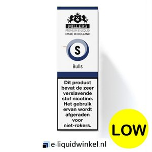 Millers Juice e-liquid Bulls Energy Low