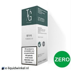 Totally Green RY-4 Tobacco E-liquid Zero