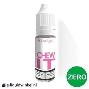 Liquideo Chew It e-liquid Zero (aardbeien bubblegum)