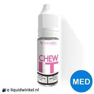 Liquideo Chew It e-liquid Medium (aardbeien bubblegum)