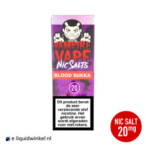 Vampire Vape NicSalt Blood Sukka e-liquid 20mg