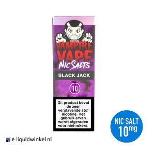 Vampire Vape NicSalt Black Jack e-liquid 10mg