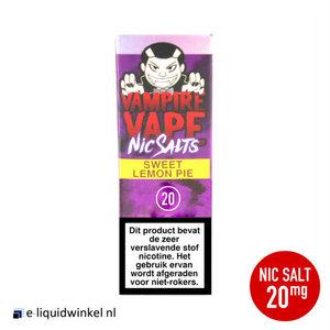 Vampire Vape NicSalt Sweet Lemon Pie e-liquid 20mg
