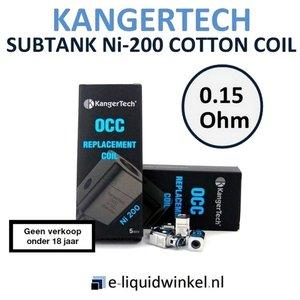 Kangertech Subtank Ni-200 Cotton Coil 0.15Ohm