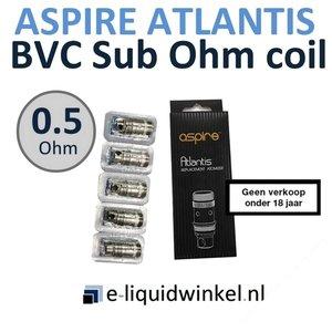 Aspire Atlantis BVC Sub Ohm coils