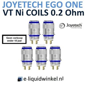 eGo ONE Coil VT Ni 0.2 Ohm