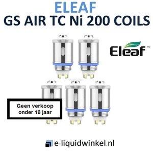 Eleaf GS Air TC Ni 200 Coil 0.15 Ohm