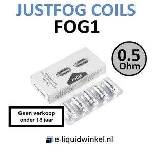 Justfog FOG1 coils 0.5 Ohm