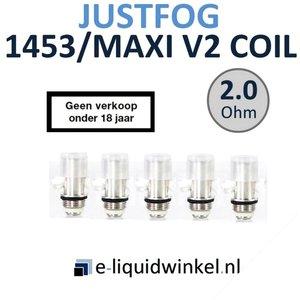 Justfog 1453 Maxi V2 coils