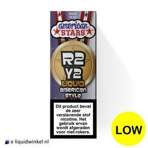 American Stars E-liquid R2Y2 Tobacco Low