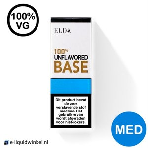 E-liquid Base Elda 100% VG Medium