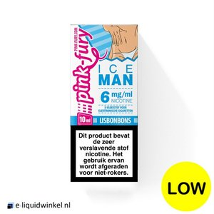 Pink Fury Ice Man e-liquid 6mg