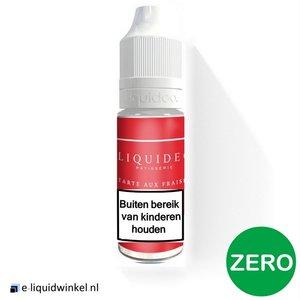 Liquideo Tarte aux Fraises Zero 0mg
