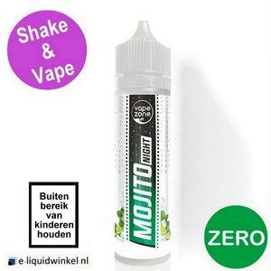VapeZone Mojito Night Shake & Vape e-liquid 40/60ml