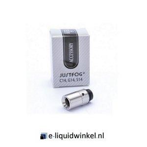Drip Tip Hybride met 510 aansluiting (dubbelwandig met airflow)