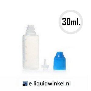 Leeg e-liquid navulflesje 30ml.