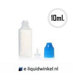 Leeg e-liquid navulflesje 10ml.