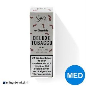 Simple Essentials e-liquid Deluxe Tobacco 12mg