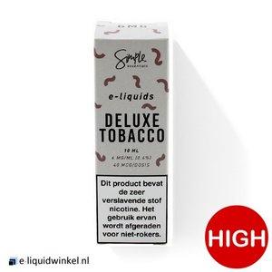 Simple Essentials e-liquid Deluxe Tobacco 18mg
