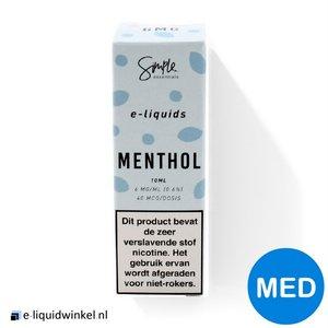 Simple Essentials e-liquid Menthol 12mg
