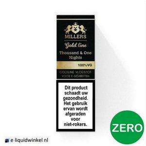 Millers Juice 1001 Nights 100% VG Zero