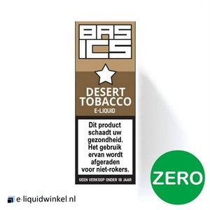 Basics Desert Tabak E-liquid Zero