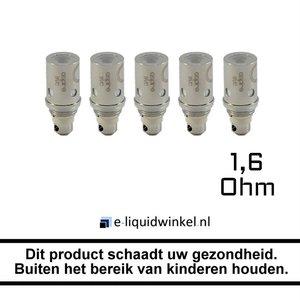 Aspire CE5/Vivi Nova S/ET-S/ET/K1/K2 BVC coils 1.6 Ohm