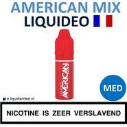 Liquideo E-liquid American Mix Medium 10ml.