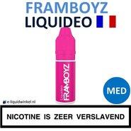 Liquideo E-liquid Framboyz Medium