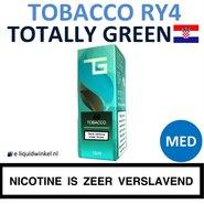 Totally Green E-liquid Tobacco RY4 Medium