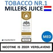 Millers Juice e-liquid Tobacco nr.1 Medium