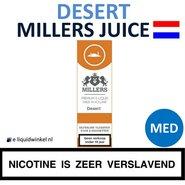 Millers Juice Desert Tabak Medium