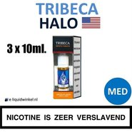 Halo E-liquid Tribeca 3 x 10ml. Medium