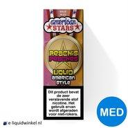 American Stars E-liquid Peach's Peaches Medium