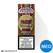 American Stars E-liquid Nutty Buddy Cookie Medium
